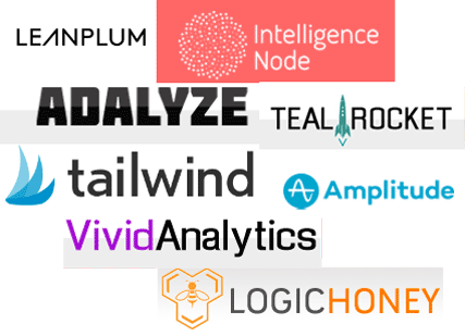 marketing analytics names
